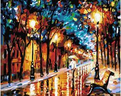 Evening alley