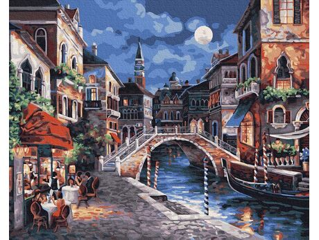 Night Venice paint by numbers