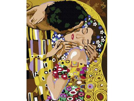 Kiss (Gustav Klimt) paint by numbers