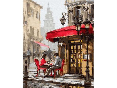 Summer cafe
