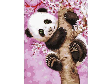 Sweet Panda paint by numbers