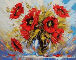 A bouquet of poppies