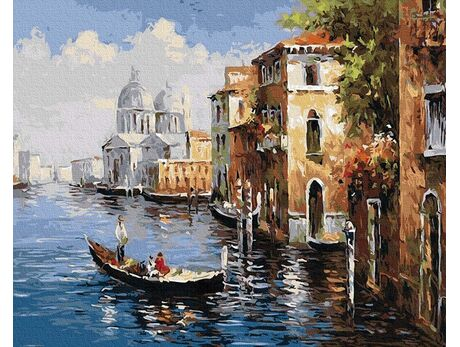 A trip to Venice paint by numbers