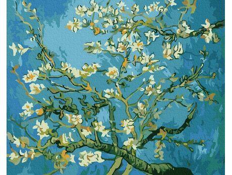 Flowering Almonds, Van Gogh paint by numbers