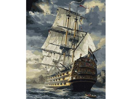 Frigate paint by numbers