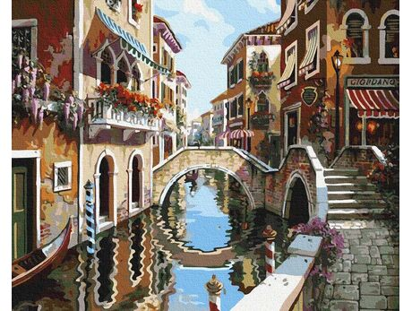Wonderful Venice paint by numbers