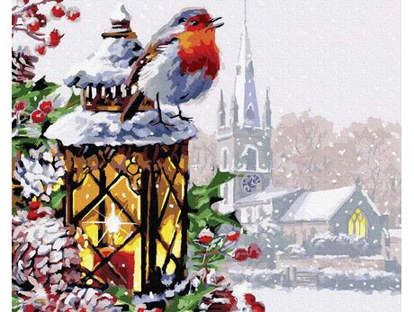 Christmas song paint by numbers