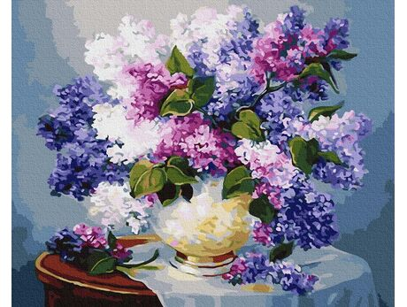 The smell of lilac paint by numbers