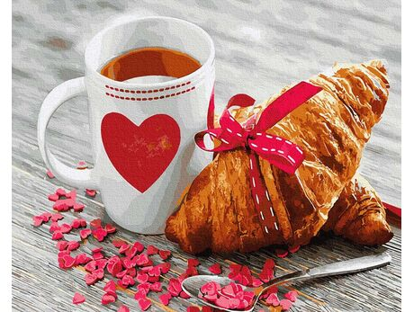Breakfast for a loved one paint by numbers