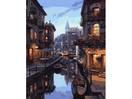 Mysterious Venice paint by numbers