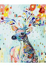 A floral deer