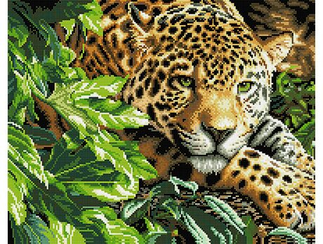 Jaguar (40x50CM) diamond painting