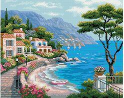 Mediterranean bay (40x50CM)