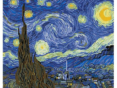 Starry Night, Van Gogh  (40x50CM)