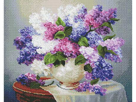 Lilac Aroma (40x50CM) diamond painting