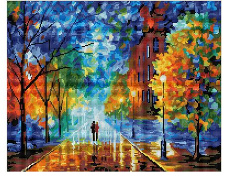 Beauty of autumn (40x50CM) diamond painting