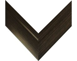 Picture frame (MDF) for 40x50cm canvas, wenge color