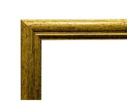 Picture frame (MDF) for 40x50cm canvas, gold color