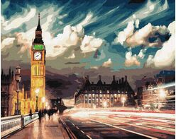 Lights of night london