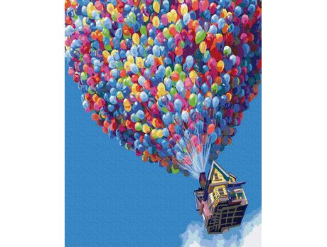 Balloons paint by numbers