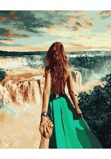 Follow me. Niagara Fall