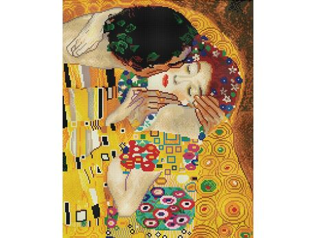 The Kiss (Gustav Klimt) (40x50CM)