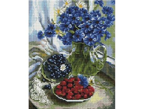 Bouquet of cornflowers (40x50CM) diamond painting