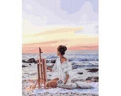 Drawing sunset