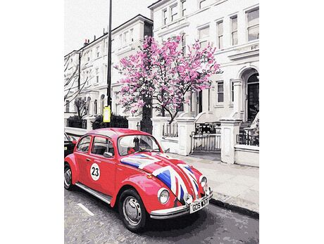 British classics paint by numbers
