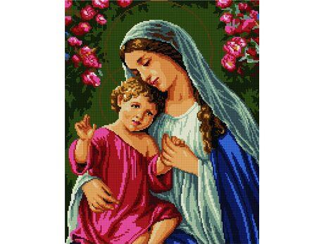 Mary and Jesus diamond painting