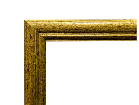 Picture frame (MDF) for 30x40cm canvas, gold color