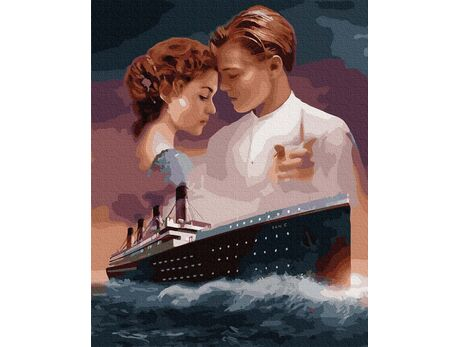 Titanic Love tragedy paint by numbers