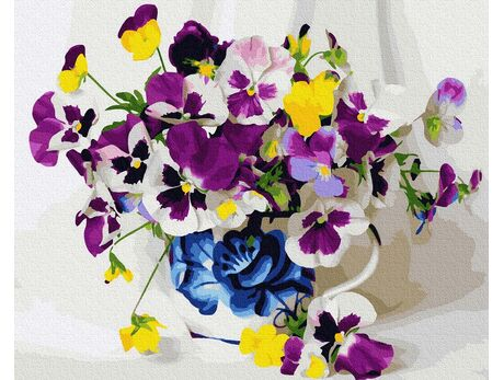 Summer Flowers paint by numbers