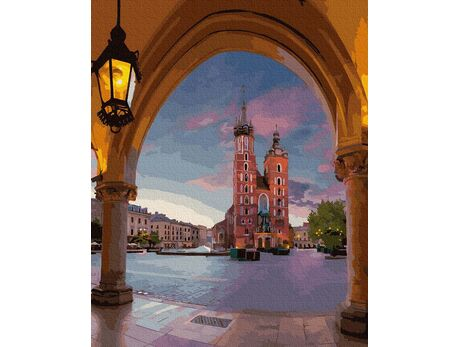 Cracow paint by numbers