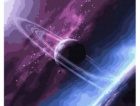 Unknown colors of the Cosmos paint by numbers