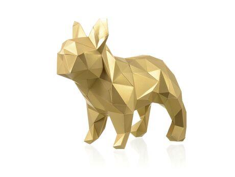 Bulldog Marseilles papercraft 3d models