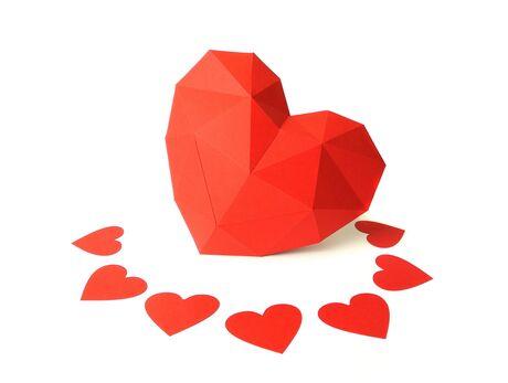 Heart papercraft 3d models