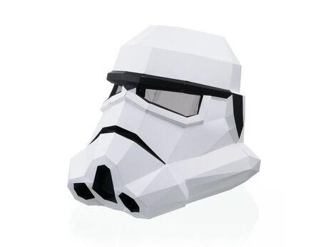 Stormtrooper mask papercraft 3d models