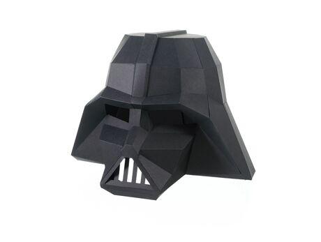 Darth Vader mask papercraft 3d models