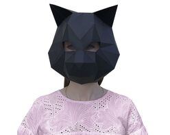 Cat mask (black)