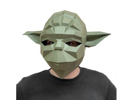 Yoda mask papercraft 3d models