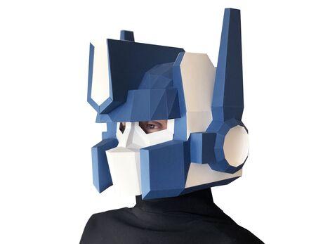 Optimus mask papercraft 3d models
