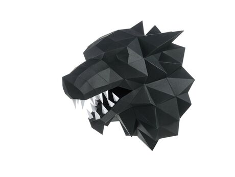 Fierce Wolf (Black)