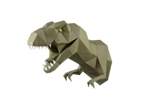 Dinosaur Zaur (wasabi) papercraft 3d models