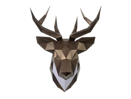 Deer Bronze papercraft 3d models