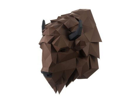 Bison Hero papercraft 3d models