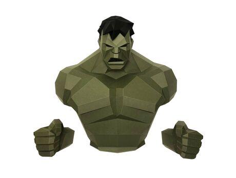 Hulk papercraft 3d models