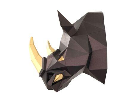 Rhino Horn papercraft 3d models