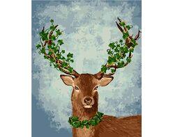 A proud deer