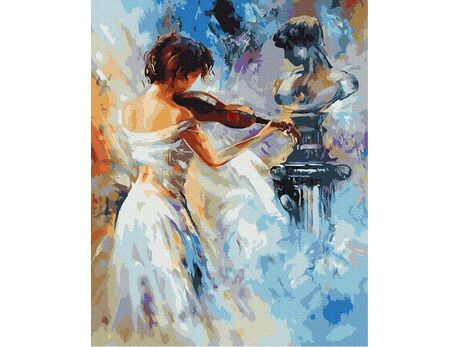 Classic violin melodies paint by numbers